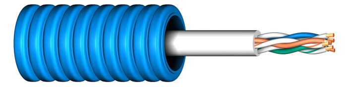 Image of Flexrör med fördragen UTP6