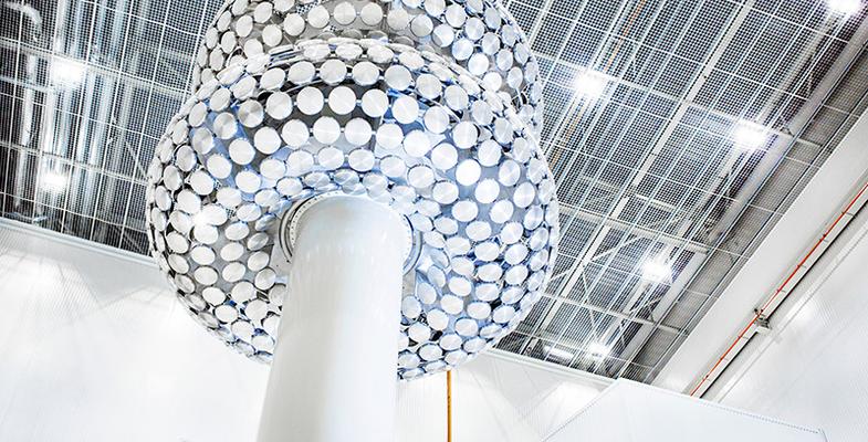 Innovative test hall for 640 kV DC innovations in Karlskrona