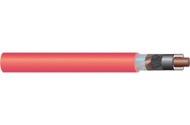 Image of 11 kV single core cable XLPE-Cu-RM-FB Cu screen cable
