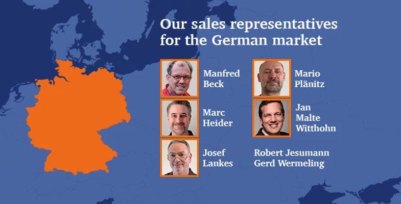 Image of german sales representatives