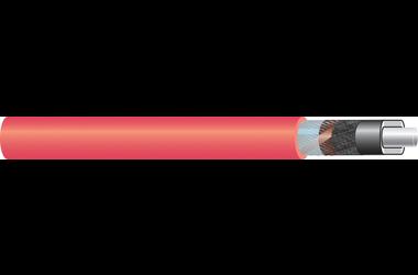 Image of 11 kV single core cable XLPE-AL-RE-FB Cu screen cable