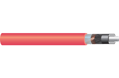 Image of 11 kV single core cable XLPE-AL-RE-FB-ST AL screen cable