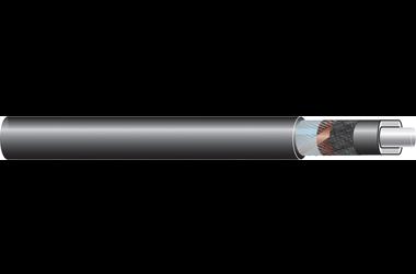 Image of 33kV single core cable XLPE-AL-RE-FB-ST, CU screen cable
