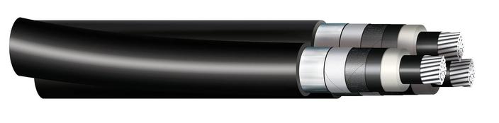 Image of 3 A2X(FL)2Y 12/20 kV cables