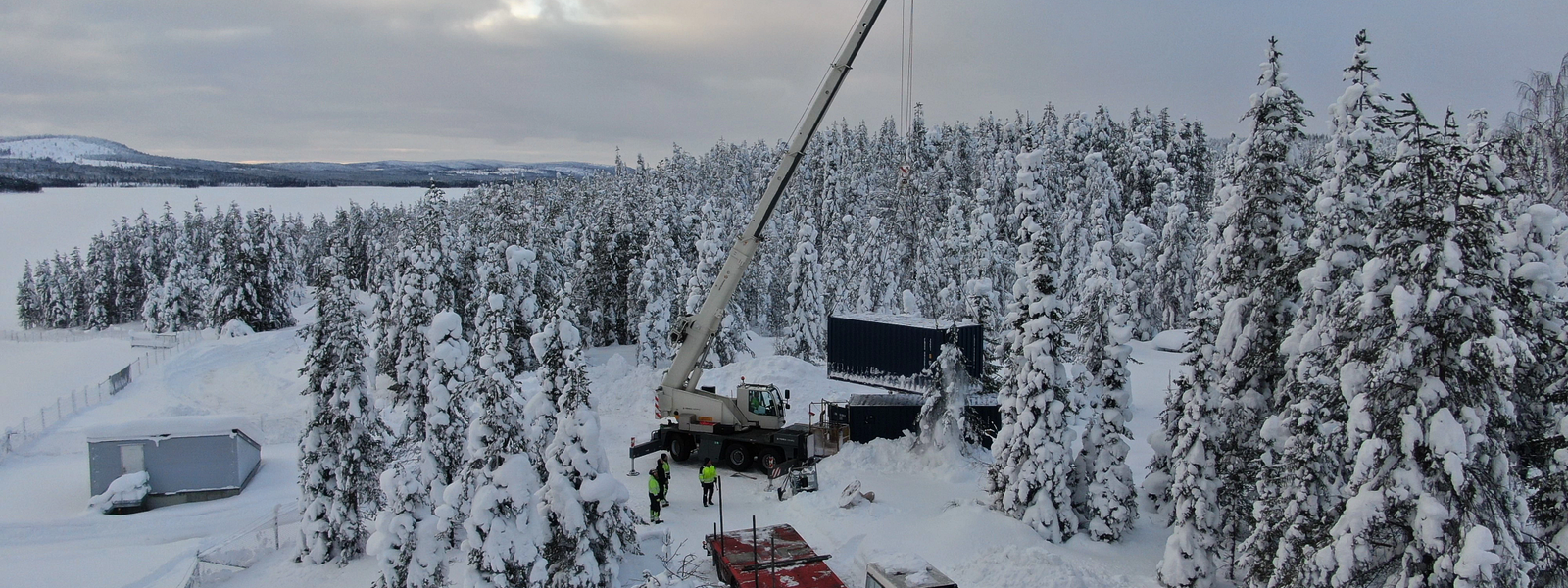 Letsi hydropower Sweden