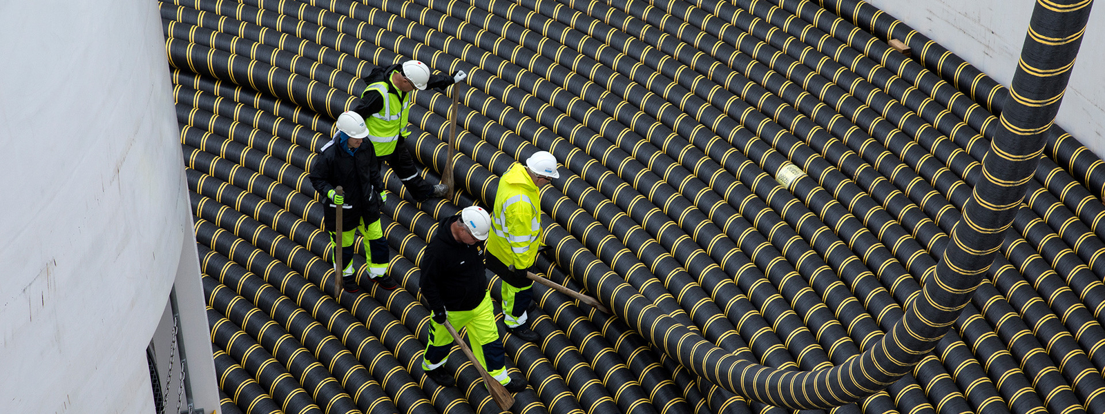 Loading of the high voltage AC submarine cable for Rentel offshore windfarm
