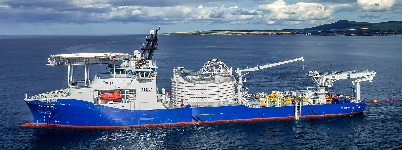 HV Offshore Caithness Moray Link project NKT Victoria