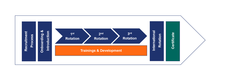 Flow chart of trainee program