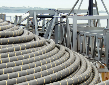 HV Offshore Cork Harbour project cable storage
