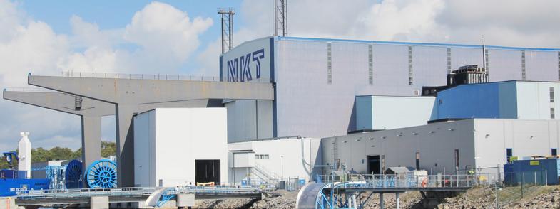 NKT factory in Karlskrona