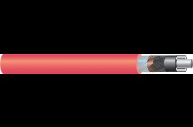 Image of 11 kV single core cable XLPE-AL-RE-FB AL screen cable