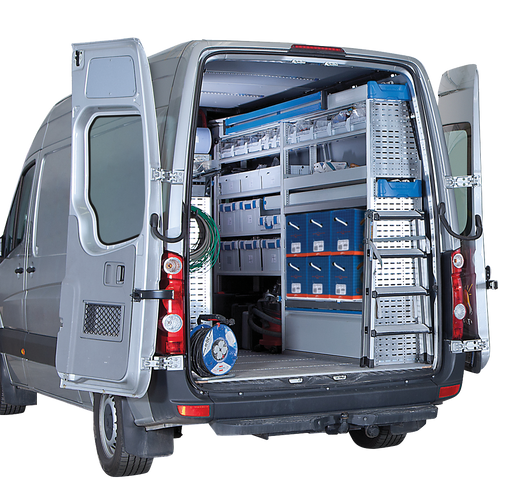 Image of electrician van