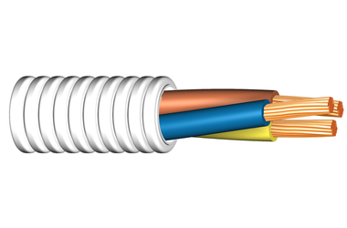 Image of Twisted FQ 450/750 V cable