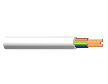 Image of H03VV-F and H05VV-F 3 core cables